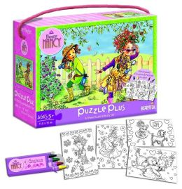 Fancy Nancy Puzzle Plus with Cards & Crayons
