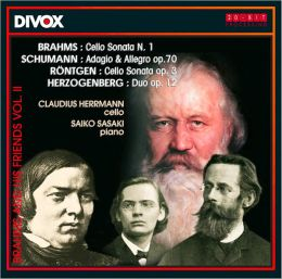 Brahms and his Friends, Vol. 2