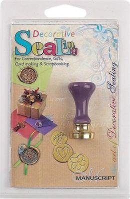 Alvin MSH727HAN Manuscript Decorative Wax Sealing Coin Handle Only