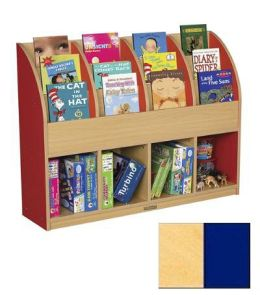 Early Childhood Resource ELR-0720-BL Large Colorful Essentials Single Sided Book Stand - Blue