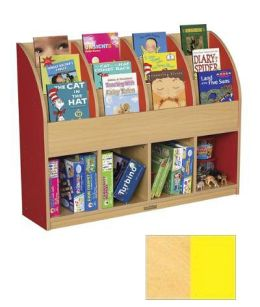 Early Childhood Resource ELR-0720-YE Large Colorful Essentials Single Sided Book Stand - Yellow