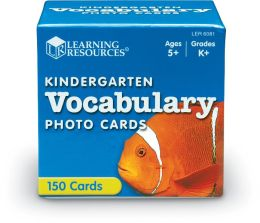 Kindergarten Vocabulary Photo Cards