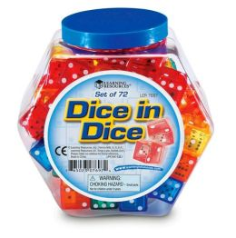 Dice in Dice Set of 72
