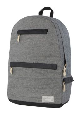 Hex Grey Denim Backpack