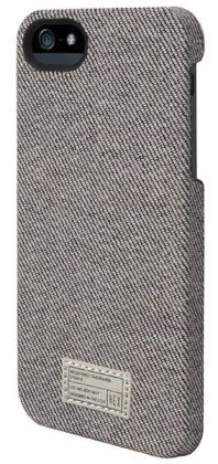 Hex Grey Denim Case for iPhone 5