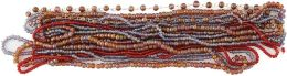 Blue Moon Royal Boheme Glass Bead Hank 11 Strands/Pkg-Seed Beads-Brown, Red, Purple