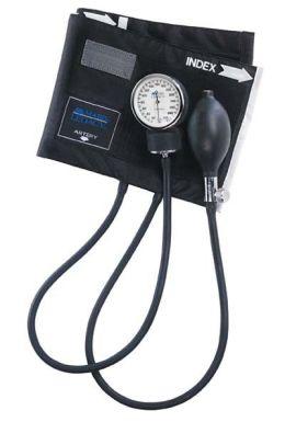Mabis 01-110-027 Legacy Aneroid Sphygmomanometer - Black Nylon Cuff - Thigh
