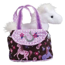 Pink Filly with Horse 7 inch Tote