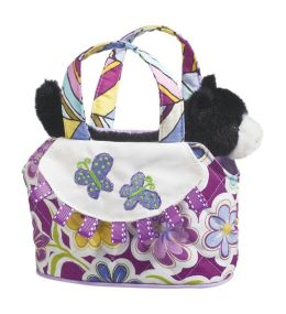 Daisy Dance with Cat 7 inch Tote