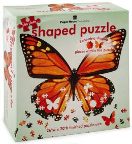 Butterfly 500 Piece Shaped Puzzle