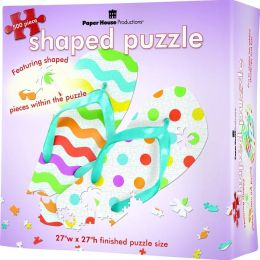 Paper House Puzzle Shapes 500 Pc. Flip Flops