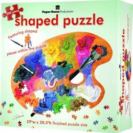 Artist Palette Puzzle