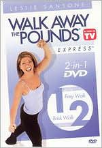 Leslie Sansone: Walk Away Pounds Express - 1 & 2 Mile