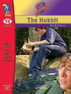 On The Mark Press OTM14184 Hobbit Lit Link Gr. 7-8