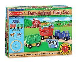 Mellisa n Doug 644 Farm Animal Train Set