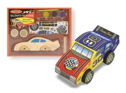 Decorate-Your-Own Kit- Wooden Race Car