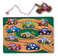 Product Image. Title: Tow Truck Magnetic Puzzle Game
