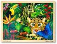 Product Image. Title: Rain Forest Jigsaw (48 pc)