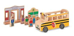 Whittle World - School Bus Set