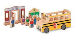 Whittle World - School Bus Set