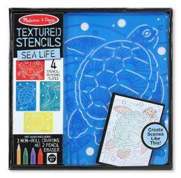 Textured Stencils - Sea Life