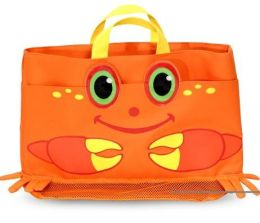 Sunny Patch Beach Tote Bag - Clicker Crab