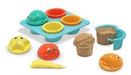 Sunny Patch Seaside Sidekicks Sand Cupcake Set