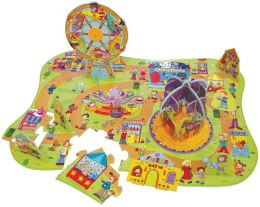 Infantino A Day At The Fair 38 Piece Puzzle