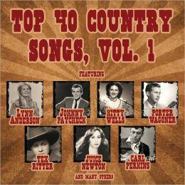 Top 40 Country Songs, Vol. 1