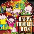 CD Cover Image. Title: 60 Happy Toddler Hits