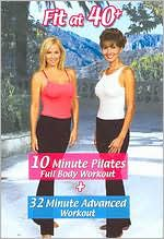 Fit at 40+: 10 Minute Pilates Full Body Workout + 32 Minute Advanced Workout