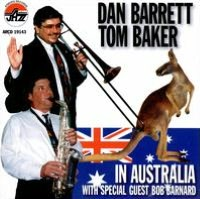 Dan Barrett and Tom Baker in Australia