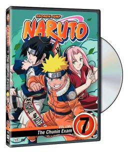 Naruto, Vol. 7: the Chunin Exam