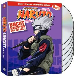 Naruto Uncut Season 4 V.1 Box Set