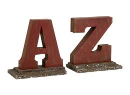 Lighting Business 27660 Roscoe A to Z Bookends