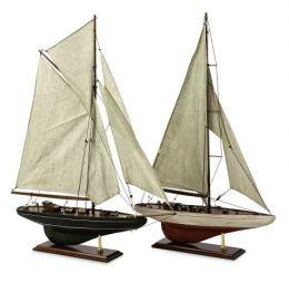 Lighting Business 50880-2 Antiqued Sailing Vessels - Set of 2