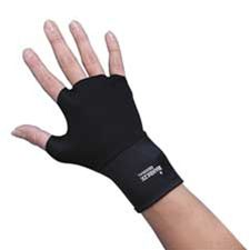 Dome Publishing Company- Inc. DOM3703 Ergonomic Therapeutic Support Gloves- Small Size- Black