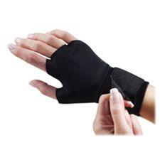 Dome Publishing Company- Inc. DOM3734 Support Glove- w- Wrist Strap- Medium- Black