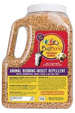 Bug Band 88903M Spreadable Geraniol for Animal Bedding - 4.3 Pound Shaker Bottle