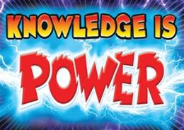 Trend Enterprises Inc. T-A67398 Knowledge Is Power Poster