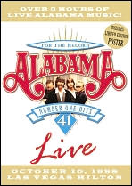 Alabama: For the Record - 41 Number One Hits Live, Volume 1