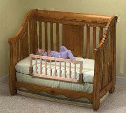 Kidco Universal Wooden Convertible Crib Bed Rail -  Natural