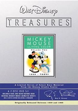 Walt Disney Treasures: Mickey Mouse In Living Color 2