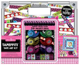 Tapeffiti Tape Art Craft Tote