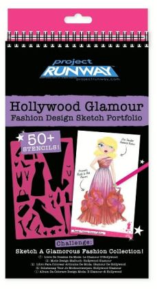 Project Runway Hollywood Glamour Fashion Design Sketch Portfolio