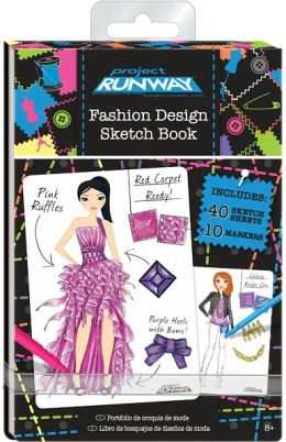 Project Runway Mini Fashion Sketch Book