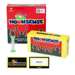NounSense Game - The Fast-Paced Party Game of People, Places and Things