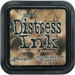 Tim Holtz Distress Ink Pad-Walnut Stain