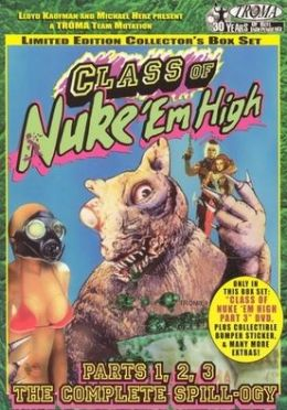 Class of Nuke 'Em High Box Set