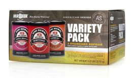 Beer Brewing Refills, American Series Variety Pack